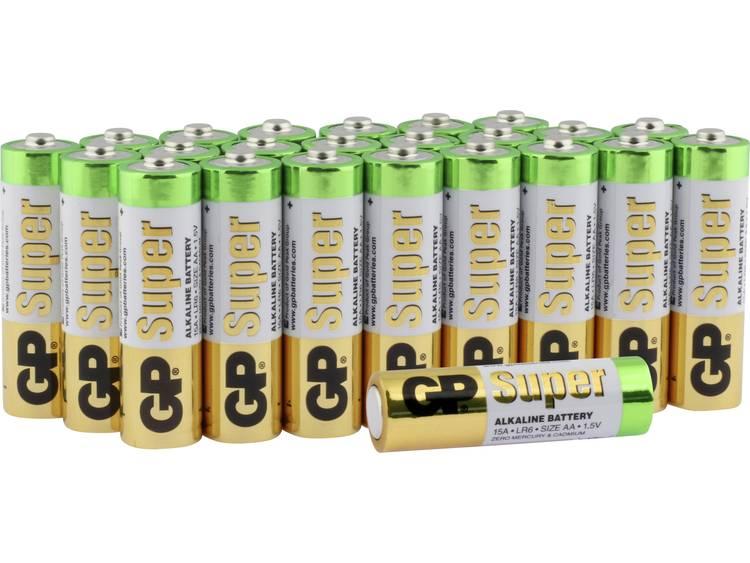 GP Batteries Super AA batterij (penlite) Alkaline 1.5 V 24 stuk(s)