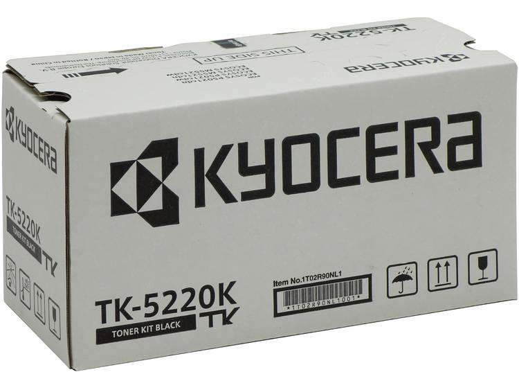 Kyocera Tonercassette TK 5220K 1T02R90NL1 Origineel Zwart 1200 bladzijden