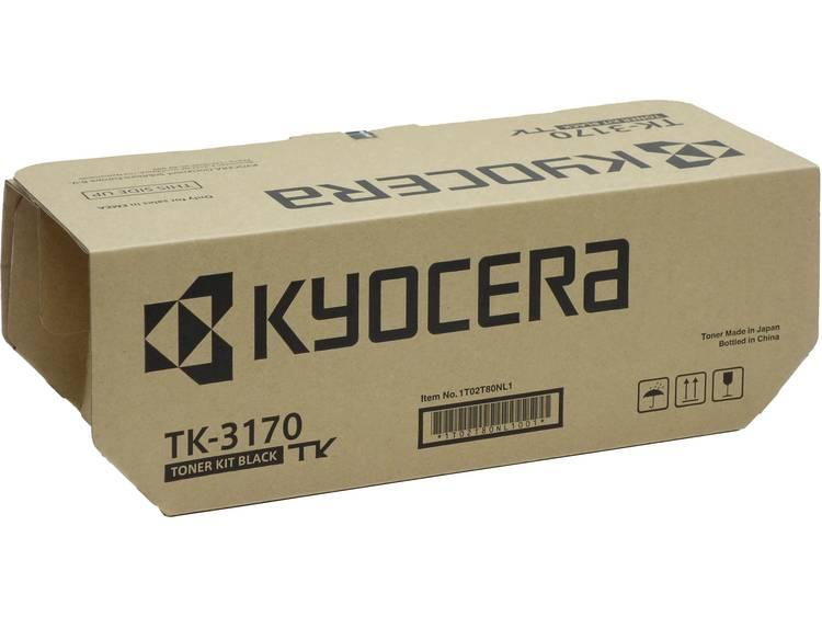 Kyocera Tonercassette TK 3170 1T02T80NL0 Origineel Zwart 15500 bladzijden