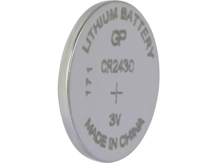 CR2430 Knoopcel Lithium 3 V 300 mAh GP Batteries CR2430 1 stuk(s)