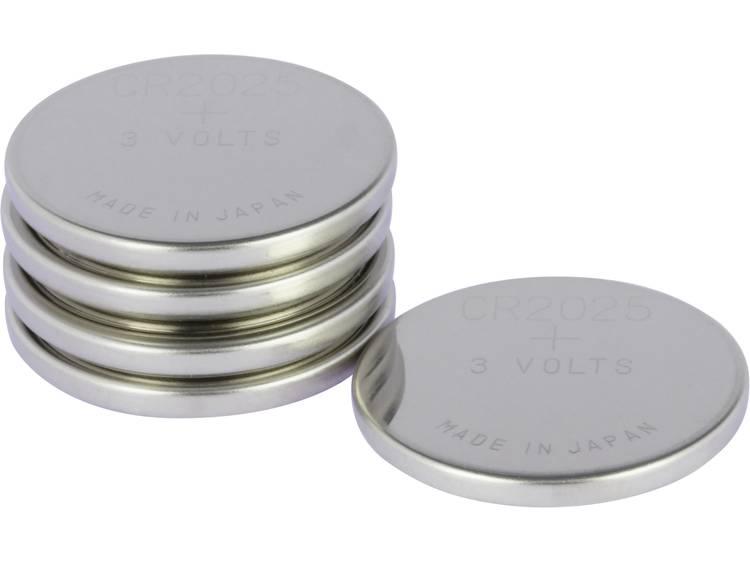 CR2025 Knoopcel Lithium 3 V 160 mAh GP Batteries CR2025 5 stuk(s)