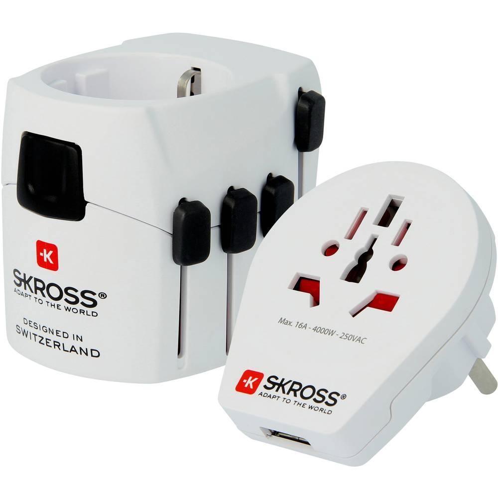 Skross 1302535 Reseadapter PRO World & USB