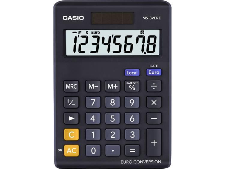 Casio Rekenmachine MS-8VERII Zwart