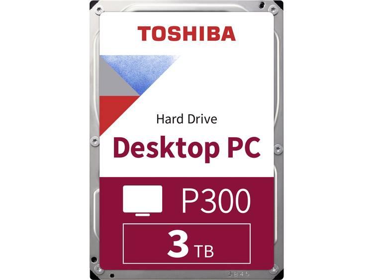 Toshiba P300 Harde schijf (3.5 inch) 3 TB HDWD130UZSVA Bulk SATA III