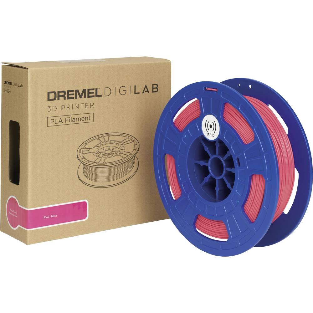 Dremel 26153D30JB 3D-skrivare Filament PLA-plast 1.75 mm 500 g Rosa 1 st