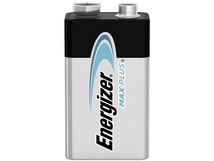 Energizer Max Plus 9V batterij (blok) Alkaline 9 V 1 stuk(s)