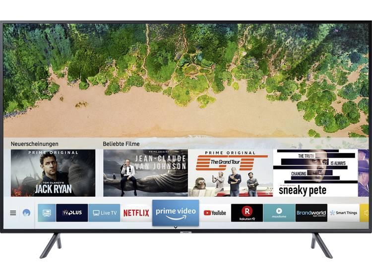 Samsung UE40NU7199 LED-TV 100 cm 40 inch Energielabel: A (A++ – E) DVB-T2, DVB-C, DVB-S, UHD, Smart TV, WiFi Zwart