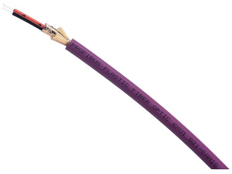 Siemens 6XV18210BN20 Glasvezelkabel 980/1000 µ Violet, Oranje, Zwart 20 m