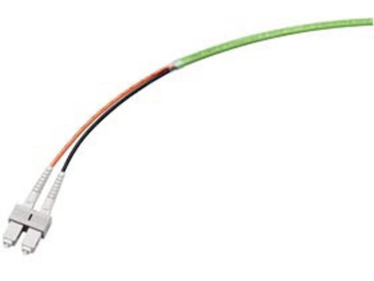 Siemens 6XV18736DH50 Glasvezelkabel 50/125 µ Multimode OM2 Groen, Oranje, Zwart 1 stuk(s)