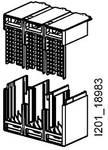 Accessoires voor VL150XUL - VL250UL aansluitdeksel IP30 kort bestaat uit 1 ...
