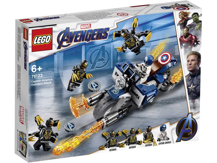 LEGO� Marvel Avengers Captain America: Outriders Attack