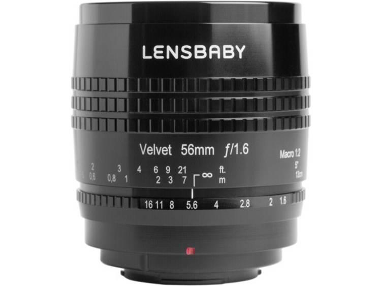 Lensbaby Velvet 56 Sony E Standaard lens f/16 - 1.6 56 mm