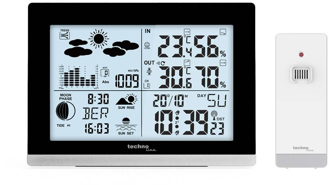 Conrad-Techno Line WS 6762 WS 6762 Draadloos weerstation-aanbieding