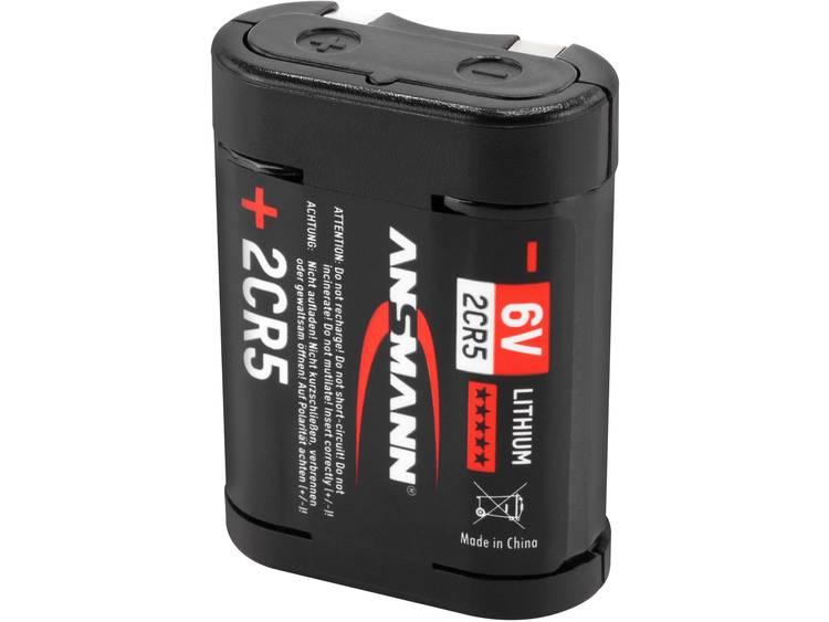 Ansmann 2CR5 2CR5 Fotobatterij Lithium 6 V 1 stuk(s)