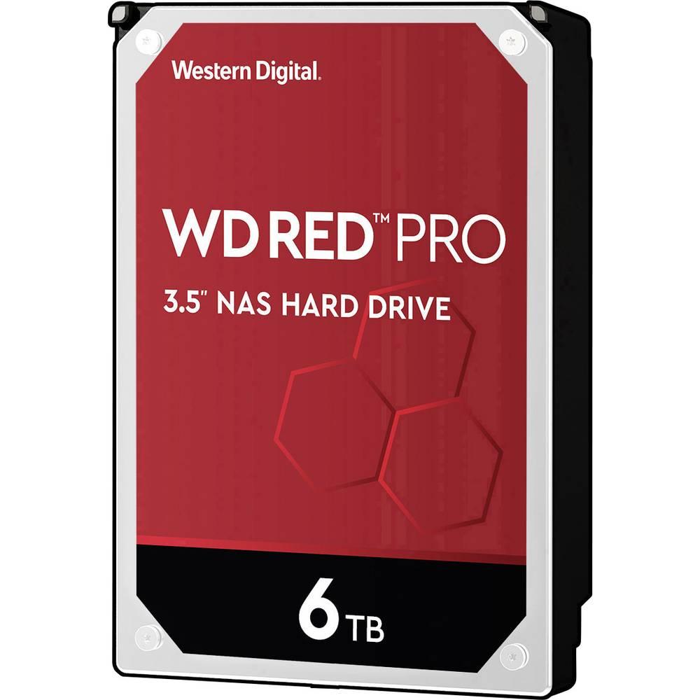 Western Digital WD Red™ Pro 6 TB Hårddisk 3.5 SATA 6 Gb/s WD6003FFBX Bulk