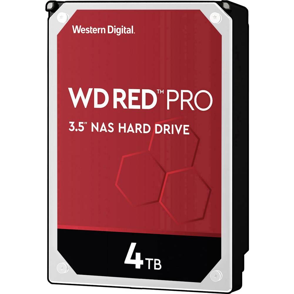 Western Digital WD Red™ Pro 4 TB Hårddisk 3.5 SATA 6 Gb/s WD4003FFBX Bulk