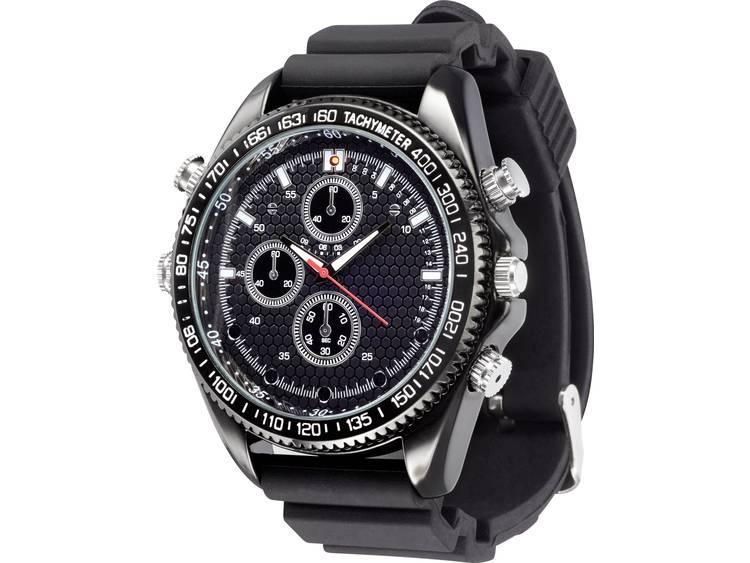Sygonix SY-3764290 Bewakingscamera in horloge 16 GB 1920 x 1080 pix kopen