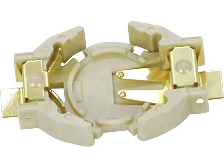 Takachi SMTU1220G Knoopcelhouder 1 CR1220 Horizontaal, Oppervlakte montage SMD (l x b x h) 23.7 x 12.7 x 4.8 mm