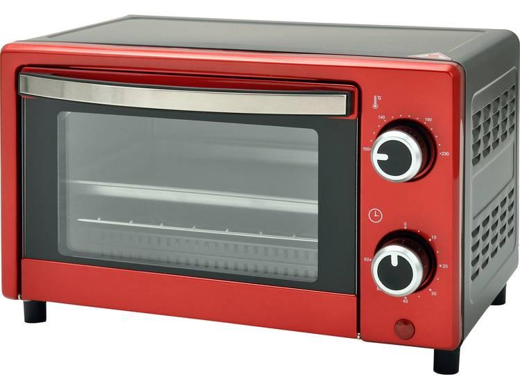TKG Team Kalorik TKG OT 1025 N RD Mini-oven Met handmatige temperatuursinstelling, Timerfunctie 9 l
