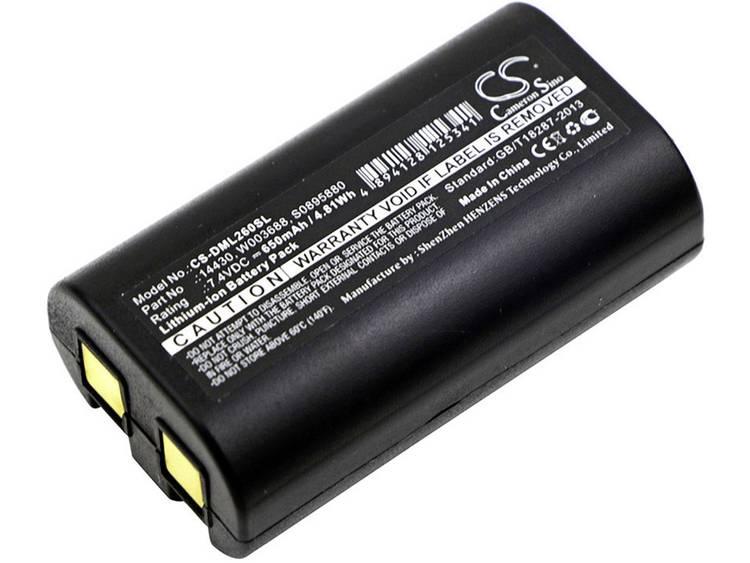 Printeraccu Beltrona 7.4 V 650 mAh N/A