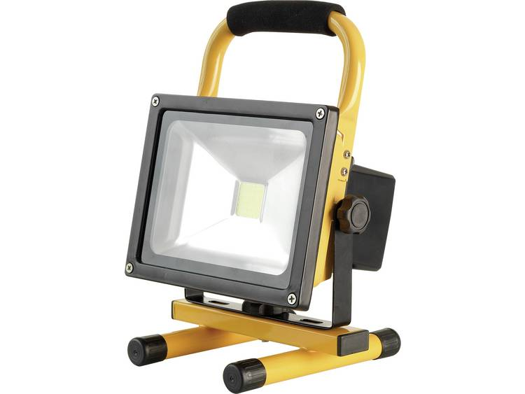 COB LED Werklamp werkt op een accu, werkt op het lichtnet AccuLux 447421 FL 20 W LED 20 W 1000 lm