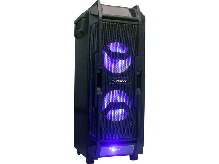 Madison MAD-HIGHPOWER28-500 Party speaker 20 cm 8 inch 500 W 1 stuk(s)