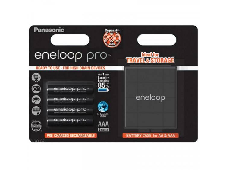 Oplaadbare AAA batterij (potlood) Panasonic eneloop Pro HR03 Box NiMH 900 mAh 1.2 V 4 stuks