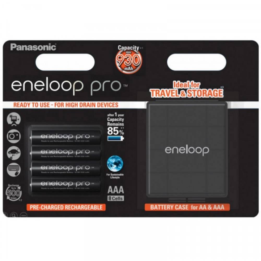 Panasonic eneloop Pro HR03 Box Laddbart batteri AAA (R03) NiMH 900 mAh 1.2 V 4 st