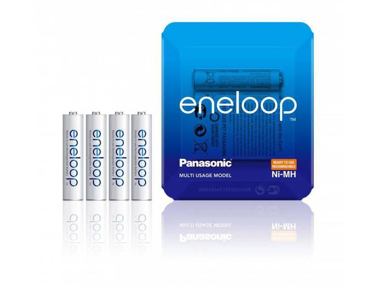 Panasonic Eneloop Pro Oplaadbare AAA Batterijen BK-4MCCE-4LE 750mAh 1x4
