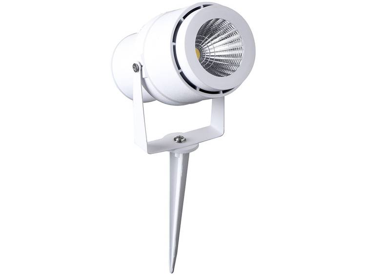 V-TAC VT-857-W ww LED-tuinschijnwerper LED 12 W Warm-wit Wit