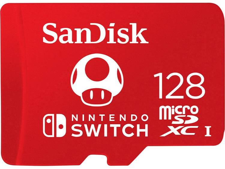 SanDisk Nintendo Switch⢠microSDXC-kaart 128 GB UHS-I, UHS-Class 3