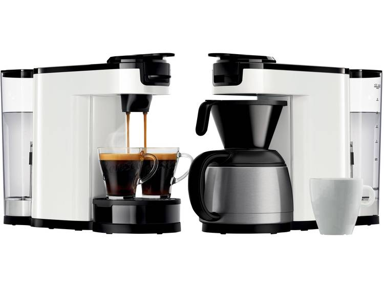 SENSEO® HD6592/00 HD6592/00 Koffiepadmachine Wit Met filterkoffie-functie