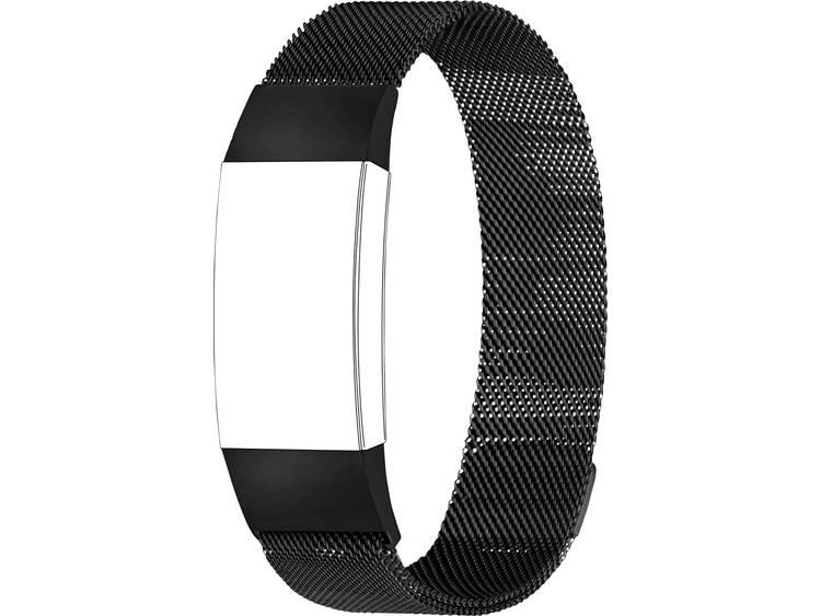 Topp für Fitbit Charge 3 Reserve armband Zwart
