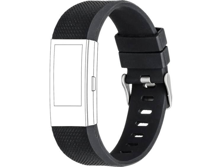 Topp für Fitbit Charge 2 Reserve armband Zwart