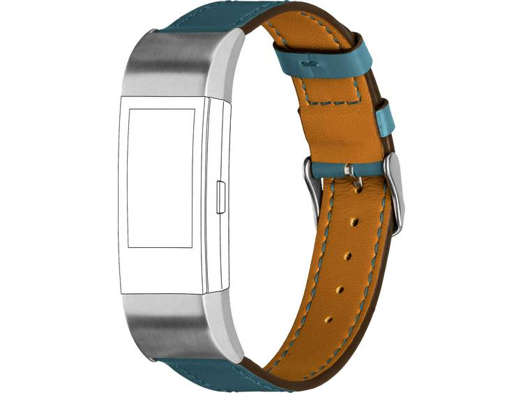 Topp für Fitbit Charge 2 Reserve armband Donkerblauw