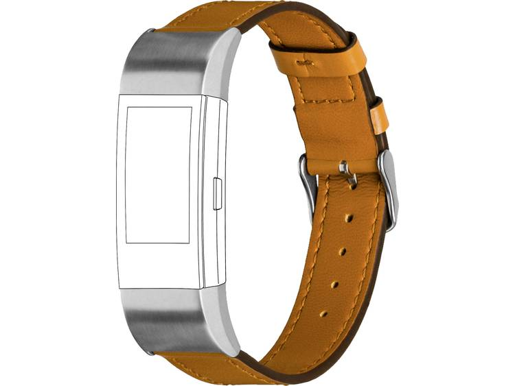 Topp für Fitbit Charge 2 Reserve armband Caramel