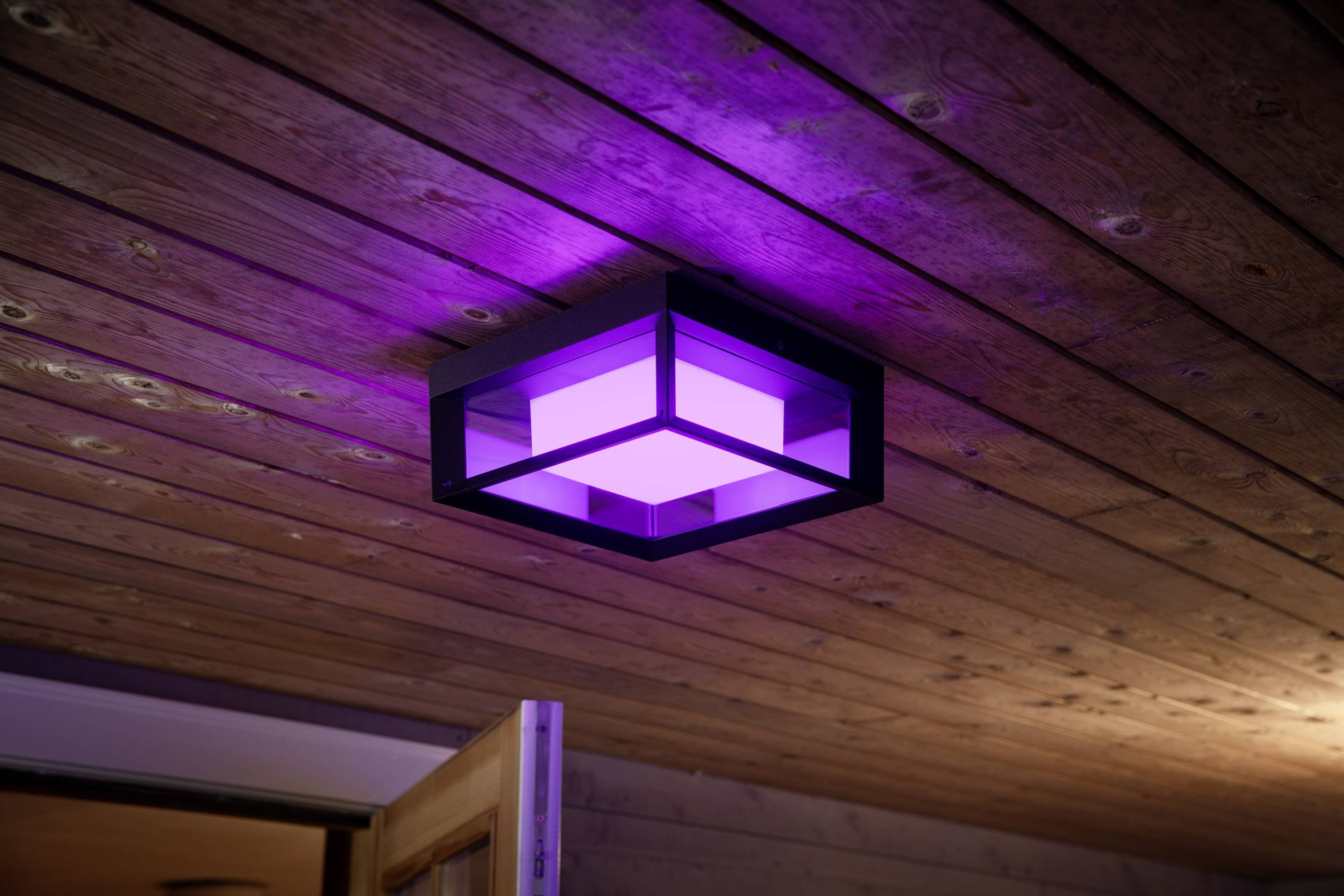 Stroomverbruik Hue Lampen : Philips lighting hue led wandlamp voor buiten econic led vast