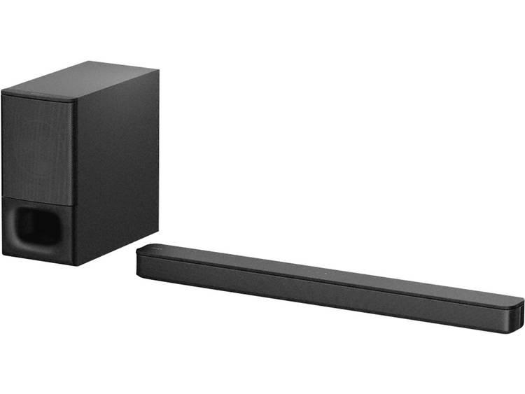 Sony HT-S350 Soundbar Zwart Bluetooth, Incl. draadloze subwoofer, Wandbevestigin