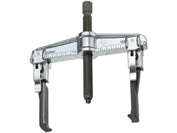 Gedore 2015706 Universele snelspantrekker 2 armig, met slanke haken 100x100 mm