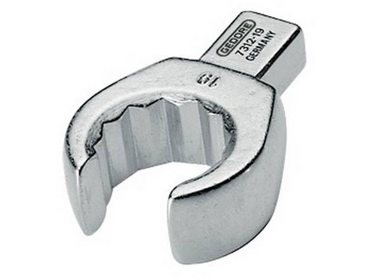 Gedore 7686260 Insteek ringsleutel open SE 9x12, 19 mm