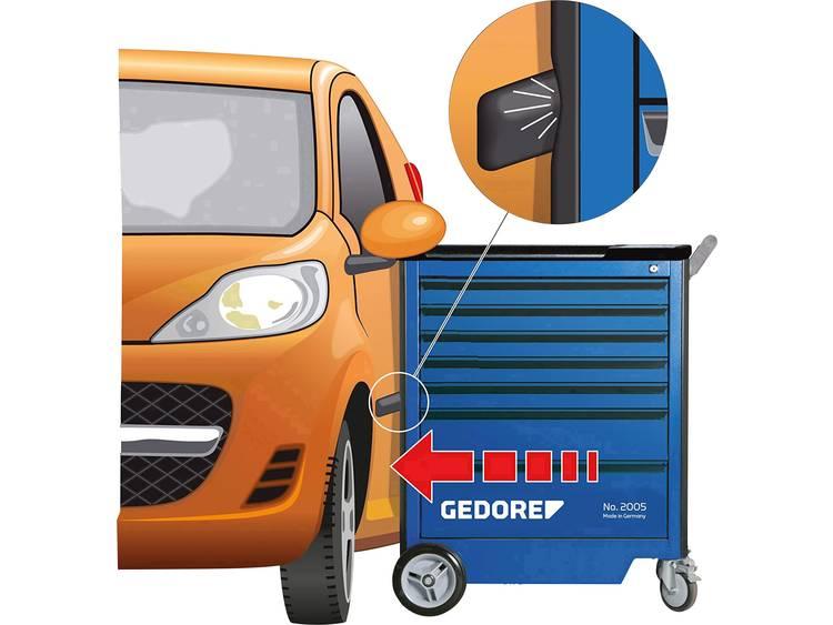 Gedore 2827379 2005 0511 E - GEDORE - gereedschapswagen met afzonderlijke uittrekstop Afm.:(b x h) 775 mm x 985 mm