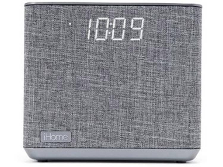 iHome ibt232 Bluetooth luidspreker AUX, FM radio, Handsfree-functie, USB Grijs
