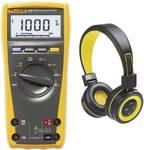 Digitale multimeter FLK-175SPPOR/HP incl. gratis Bluetooth hoofdtelefoon
