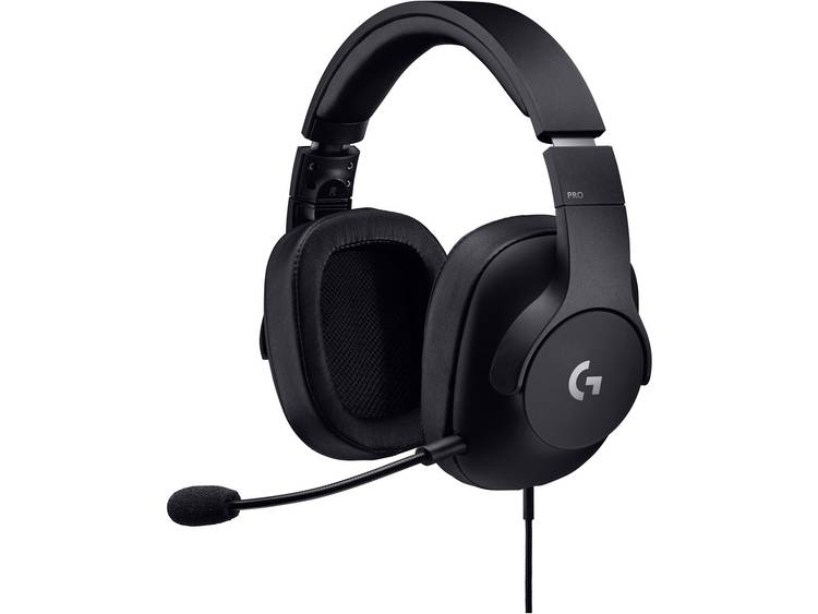 Logitech G Pro Gaming headset USB, 3.5 mm jackplug Kabelgebonden On Ear Zwart