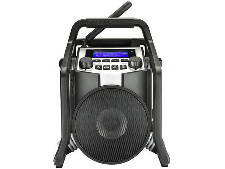 PerfectPro PowerPlayer Bouwradio DAB+, FM Bluetooth, AUX, USB Stofdicht, Stofvas