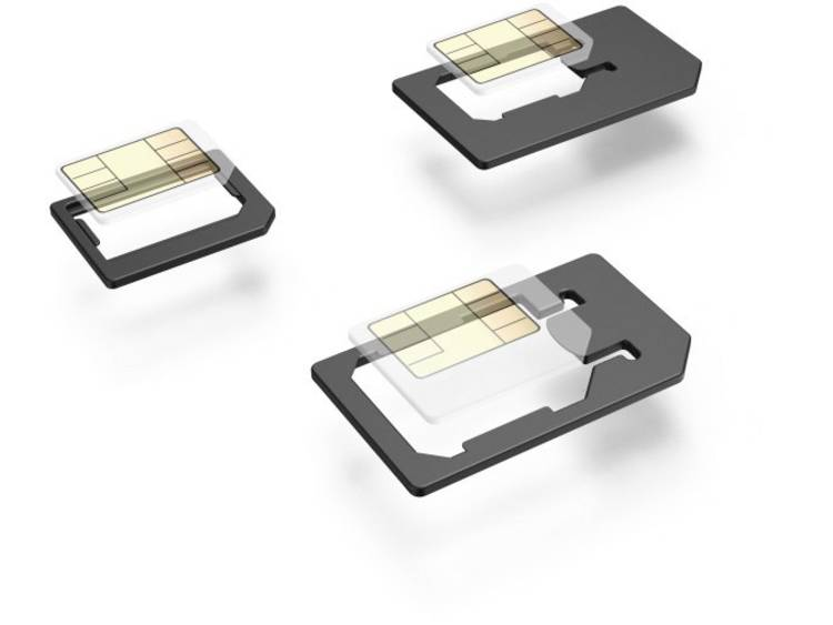 Hama Set 5-teilig SIM-adapter Incl. SIM-naald Aangepast van: Micro SIM, Nano SIM Aangepast naar: Mic
