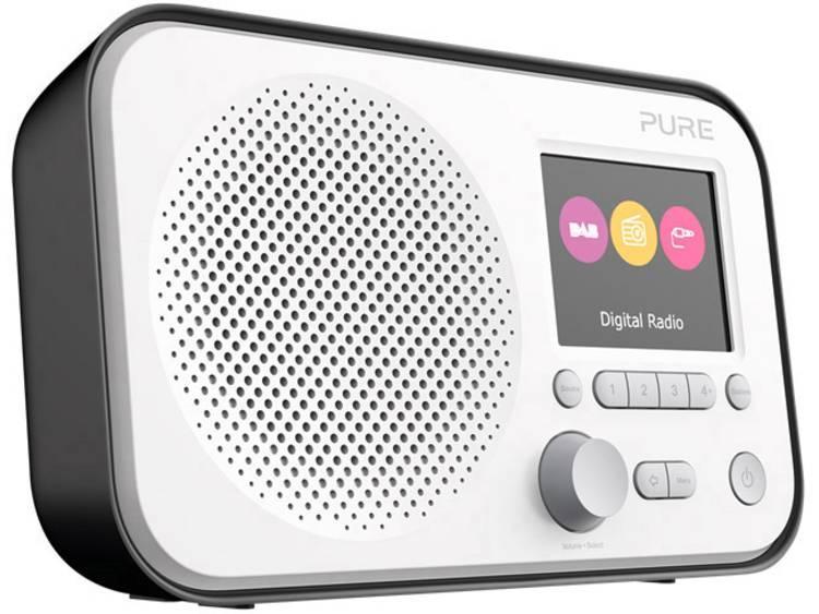 Pure Elan E3 DAB+ Transistorradio AUX, FM Zwart
