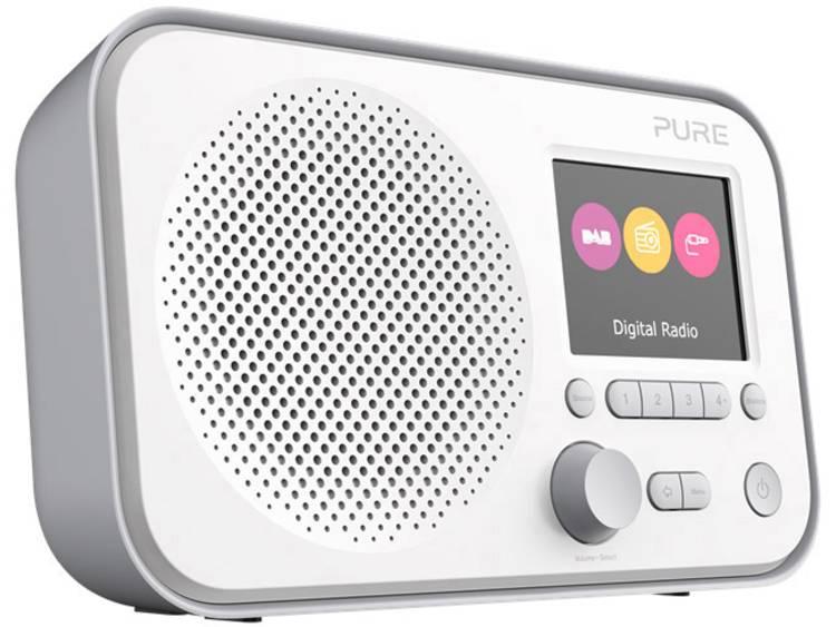 Pure Elan E3 DAB+ Transistorradio AUX, FM Grijs