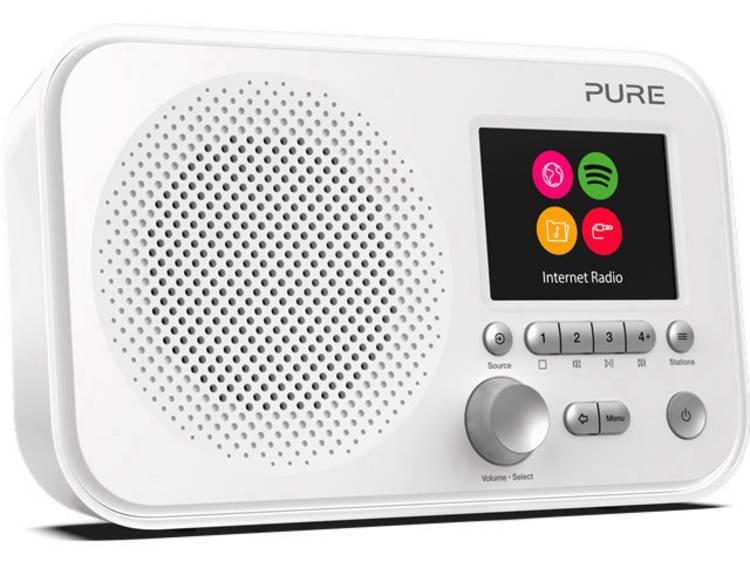 Pure Elan IR3 AUX, WiFi, Internetradio Spotify Wit