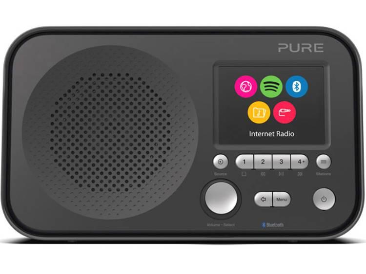 Pure Elan IR5 Transistorradio met internetradio AUX, Bluetooth, WiFi, Internetra